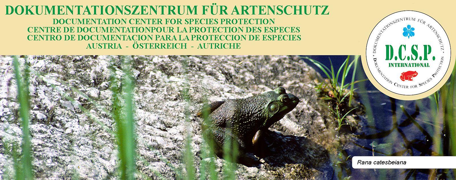 Tierschutz - Dokumentationszentrum für Artenschutz DCSP